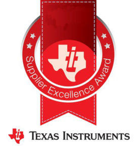 TI recognizes 14 suppliers with annual excellence awards (PRNewsFoto/Texas Instruments Incorporated..)